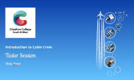 Secondary Cabin Crew Taster Day!