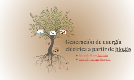 Generación de energía eléctrica a partir de biogás