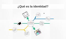 Copy of ¿Qué es la identidad?