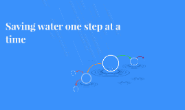 Saving water one step at a time