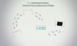 T.1. L'EXPRESSIÓ VERBAL.