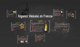 Las regiones vinícolas en francia