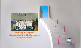 Building a Progam