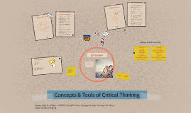 Critical Thinking Concepts & Tools