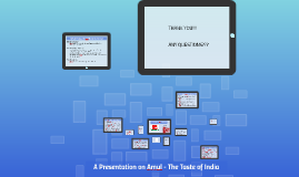 Copy of A Presentation on Amul - The Taste of India