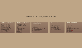3-Placements