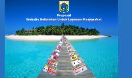 Proposal Website Kelurahan Untuk Layanan Masyarakat