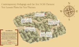 Contemporary Pedagogy and the Ten NCSS Themes: Ten Lesson Plans for Ten Themes