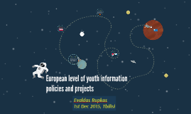 European level of youth information policies