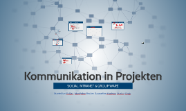 Kommunikation in Projekten