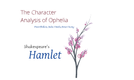 a character analysis shakespeares oedipus