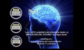 Copy of Seguera del Conocimiento: El Error y La Ilusion