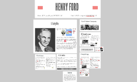 Presentation about HENRY FORD