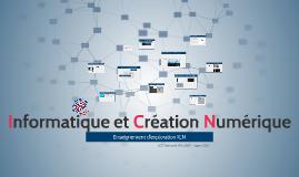 Informatique et Création Numérique B Palissy 2017