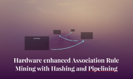 Hardware enhanced Association Rule Mining with Hashing and P