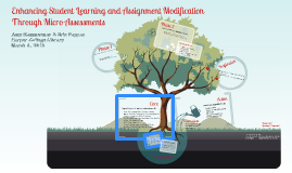 Enhancing Student Learning & Assignment Modification