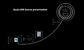 Accés UIB Course