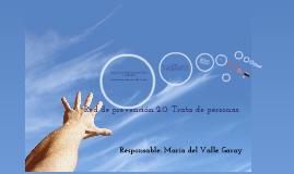 Red de prevención 2.0: Trata de personas