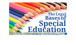Copy of Copy of Legal Bases of Special Education in the Philippines