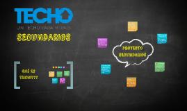TECHO SEC. presentación del proyecto.
