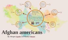 Afghan americans