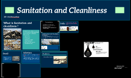 Sanitation and Cleanliness: Segregation and processing of wa