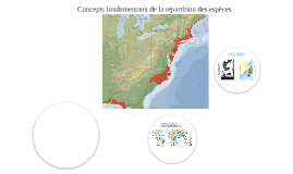 Biogéographie - distribution