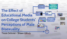 The Effect of Educational Media on College Students' Percept