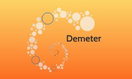 Demeter: Greek Goddess of the Bountiful Harvest