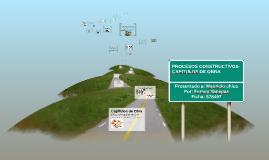 Copy of CAPITULOS DE OBRA