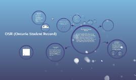 OSR (Ontario Student Record)
