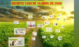 Decreto 1290 de