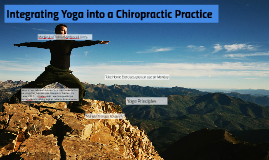 Integrating Yoga into a Chiropractic Practice