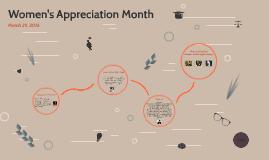 Women's Appreciation Month
