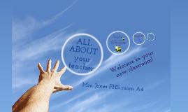 Copy of Meet the teacher