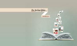 Copy of IN PRINCIPIO...L'ARCHITETTURA.