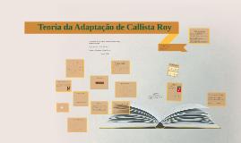 Copy of Teoria da Adaptação de Callista Roy