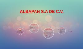 ALBAPAN S.A DE C.V.