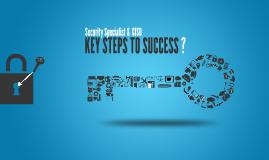 Security Specialist & CISO, Key Steps to Success(세명컴퓨터고)