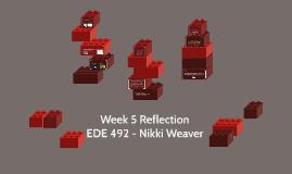 Week 5 Reflection
