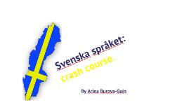 Copy of Svenska