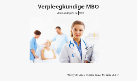 Verpleegkundige MBO
