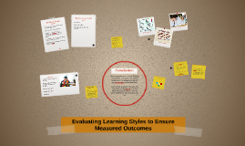Evaluating Learning Styles to Ensure Measured Outcomes