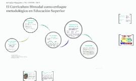 El Curriculum Bimodal como enfoque metodológico en Educación