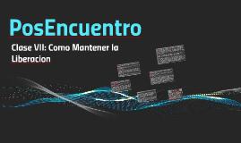 PosEncuentro (Clase VII)