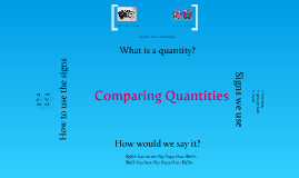 Copy of Copy of Comparing Quantities