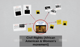 Civil rights (African American & Women's movement)