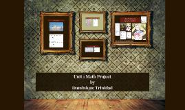 Unit 1 Math Project
