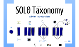 Principles of SOLO Taxonomy