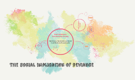 Copy of The social implication of deviance